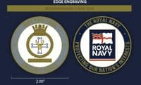 HMS Portland Challenge Coin (with FREE name engraving)